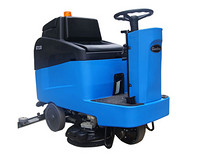 Gadlee GT110 Ride On Scrubber Dryer