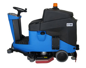 Gadlee GT180 ride-on scrubber dryer