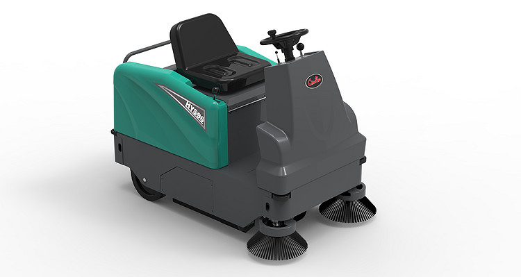 HYS96 Driving type sweep the floor machine