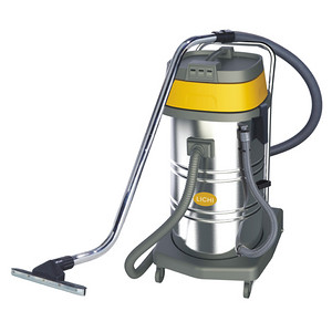 LC80-3 LICHI 80L Three-motor stainless steel wet and dry vacuum cleaner(tilt)