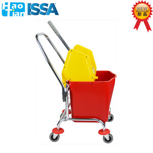B-044 30L Single Mop Wringer Trolley