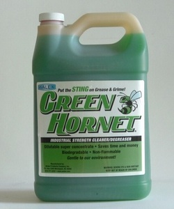 Green Hornet INDUSTRIAL STRENGTH CLEANER/DEGREASER