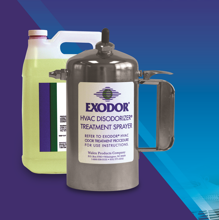 EXODOR  HVAC Deodorizer Treatmen