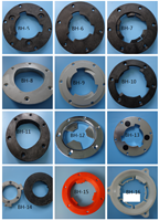 Buckle clutch adapter parts for  floor scrubber brush