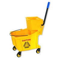 B-040 36L Single Mop Wringer Trolley