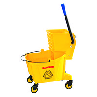 B-040C 24L Single Mop Wringer Trolley