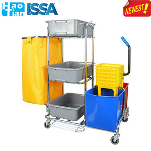 D-011C Multi-function Janitorial Cart