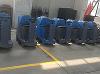 best quality factory wholesale price commercial use battery powered ride on compact size floor scrubber