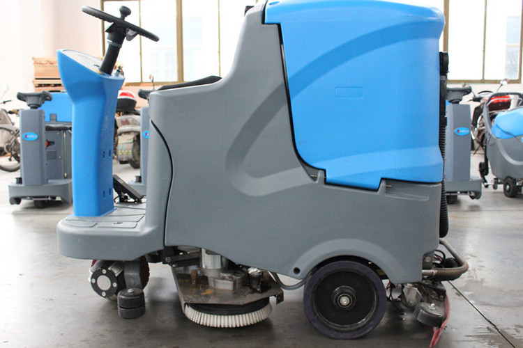 wholesale double disc battery powered multi-function floor cleaning machine