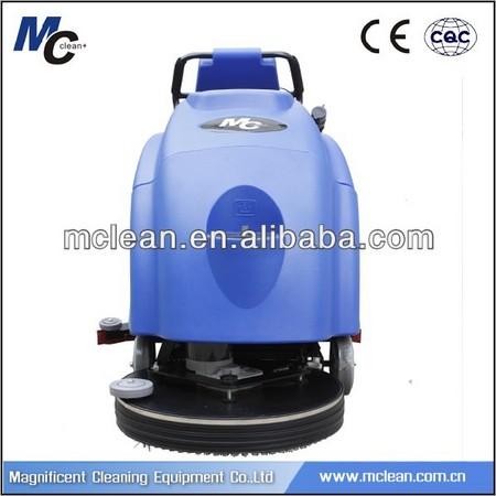 MC C510 good price industrial floor cleaning machine, mini floor scrubber dryer