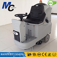 RD660B automatic ride on floor scrubber floor cleaning machine